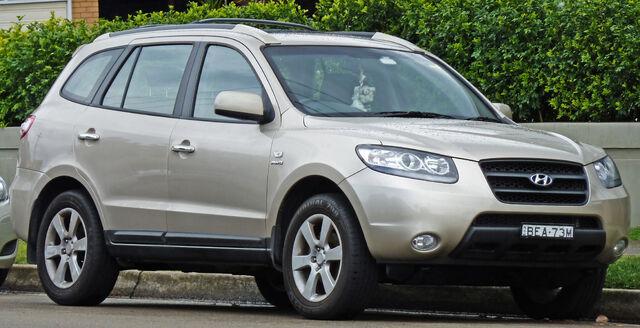 File:2006 2007 Hyundai Santa Fe (CM) Elite Wagon 01