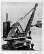A 1904 Whitaker Brothers Navvy 20 T Steam Excavator