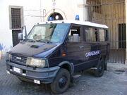 Carabinieri van