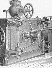 Corliss valvegear, Gordon's improved (New Catechism of the Steam Engine, 1904)