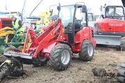 Schaffer 3345 loader trencher at SED 09 - IMG 8275