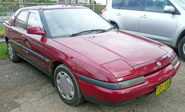 Image - 1991-1994 Mazda 323 (BG Series 2) Astina 5-door hatchback 01