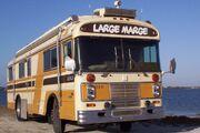 """Large Marge"", a 1980 Blue Bird Wanderlodge FC33"