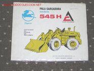 Pegaso ALLIS CHALMERS 545 H brochure