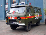 UAZ 452-colors of military police