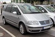 VW Sharan II. Facelift 20090719 front