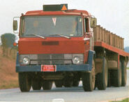 1970s EBRO P320 Tractor