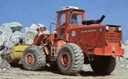 A 1980s Aveling Barford TS350 4WD Loader Diesel