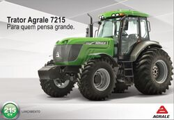 Agrale 7215 MFWD (green) brochure - 2015