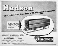 Hudson railway wagons
