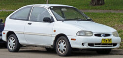 1997-2000 Ford Festiva Trio 3-door hatchback 01