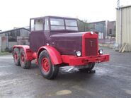A 1940s Thornycroft Amazon Tractor 6X4 restored