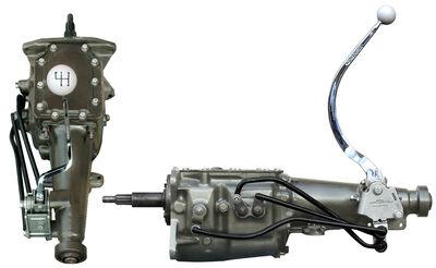 Ford Design 3-speed OD Transmission w. Hurst Shifter