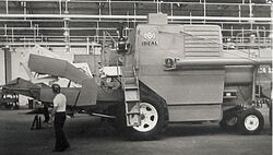 IDEAL CA-1175 b&w combine