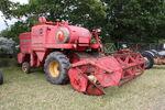 MF 415 combine - TVJ 486J - Netley Marsh 11 - IMG 7259