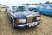 Rolls-Royce Silver Spirit - A11 NJD at coppice 2011 - IMG 0696