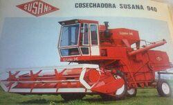 Susana 940 combine brochure