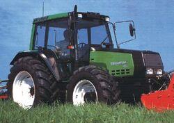 Valtra Valmet 6800 Mezzo MFWD (green) - 2001