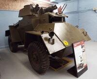 A 1930s GUY Armoured Car 4WD