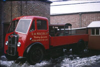 A 1960s GUY Otter Diesel Cargolorry