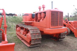 Allis-Chalmers HD19 crawler at Casterton 2010 - IMG 2151