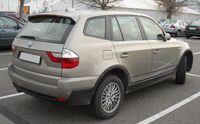BMW E83 rear 20081128