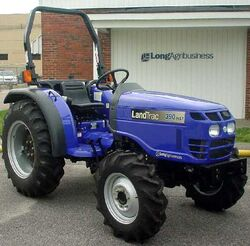 Long LandTrac 390 HST MFWD-2002