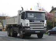 Scania porteur benne tp