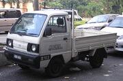 Suzuki Carry (fifth generation) (pickup) (front), Kuala Lumpur