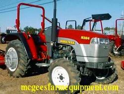 WorkTrak N304 MFWD - 2003