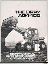 1970s Bray AG4400 4WD Loader Diesel