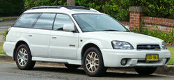 2000-2003 Subaru Outback H6 3.0i station wagon (2011-03-10) 01