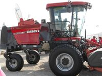 Case IH WD1903 swather - 2011