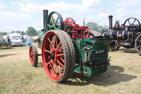 Davey Paxman no. 16849 - TE - little Audrey - AF 3373 at Hollowell 2011 - Picture 781