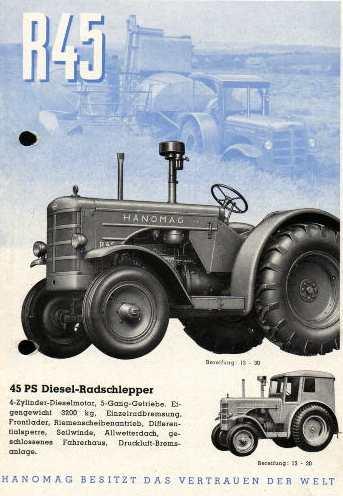 Massey Ferguson Mf 600c Hanomag K12d Betriebsanleitung Literatur