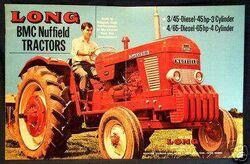 Long BMC Nuffield 4-65 ad