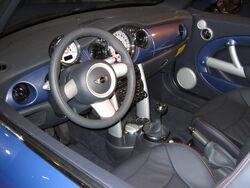 Mini Cooper Cabrio interieur