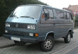 VW Type2 T3 Caravelle Synchro