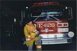 York Nebraska Engine 620 - 1990 American LaFrance Fire Engine
