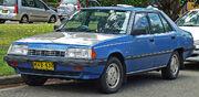 1984-1985 Mitsubishi Sigma (GK) SE sedan (2010-12-28) 01
