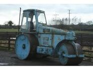 A 1970s Aveling-Barford GCT Roadroller