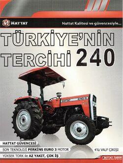 Hattat 240 S (MF) brochure - 2013