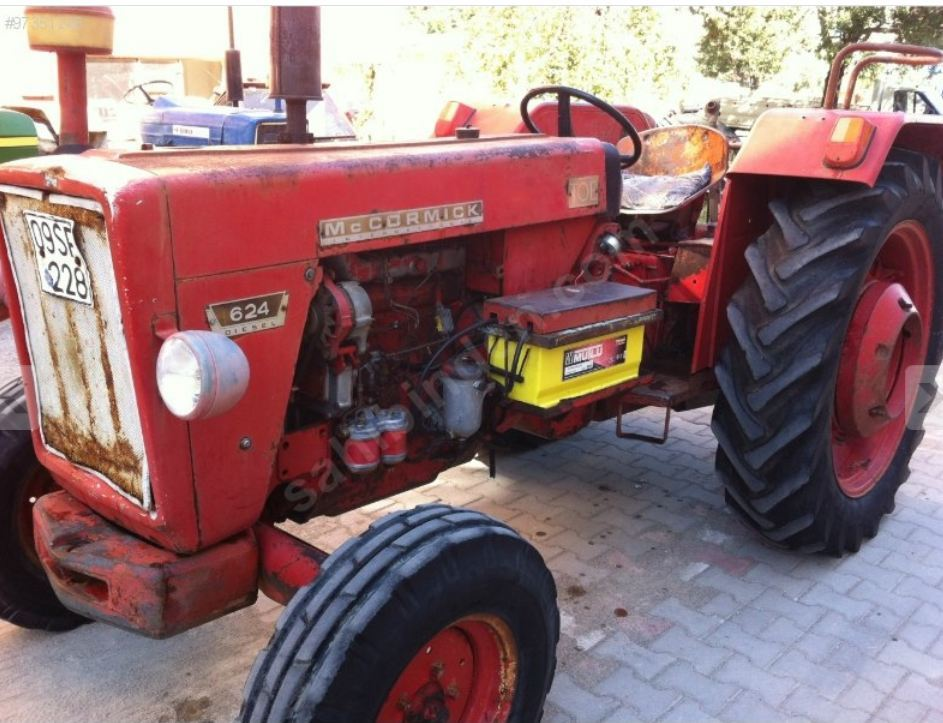 McCormick TOE 624 | Tractor & Construction Plant Wiki