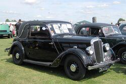 Morris Ten Coupe first reg June 1937
