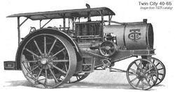 Twin City 40-65 b&w - 1925
