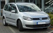 VW Touran II. Facelift front 20100925