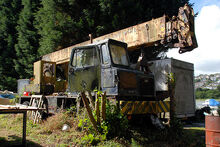 A 1970s Vickers-AWD Industrial Chassis Cranecarrier 6X6