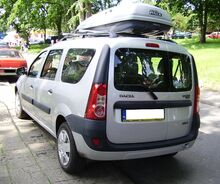 Dacia Logan MCV Międzyzdroje2