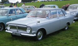 Ford Zephyr 6 License plate 1965
