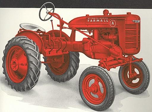 Farmall A | Tractor & Construction Plant Wiki | FANDOM